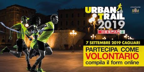 Cagliari Urban Trail 2019 - Volontari segnalatori di percorso biglietti