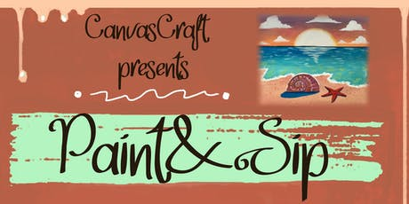 CanvasCraft -Paint and Sip  tickets