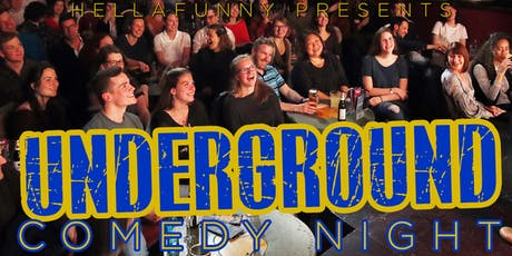 Underground Comedy Night tickets