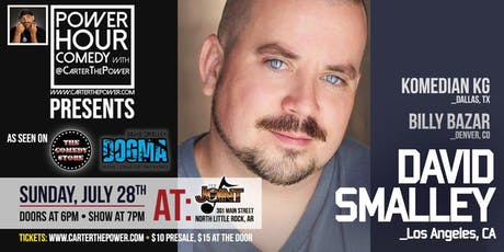 Power Hour Comedy starring David Smalley tickets