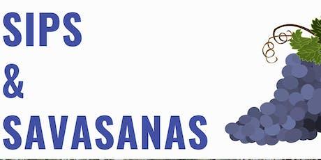 SIPS AND SAVASANAS  tickets