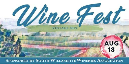 Wine Fest! Vintage 2019