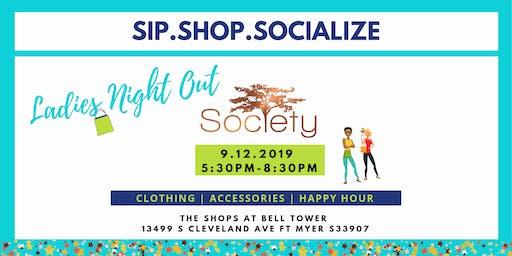 Sip.Shop.Socialize Ladies Night at Society