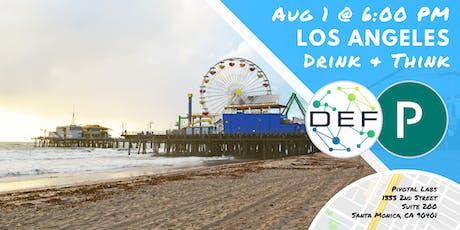 DEF Los Angeles Drink & Think tickets