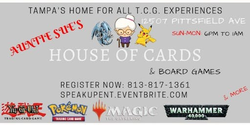 House Of Cards (Magic The Gathering Tournament)