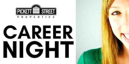 Pickett Street Career Night (July)