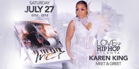 """Do You Know Me"" LHHATL Karen ""KK"" King Official Book Signing-Chicago Silver Room tickets"