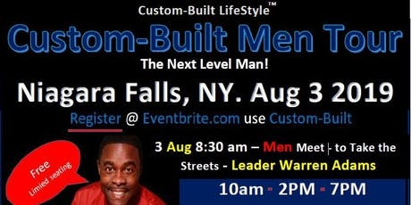 Custom-Built Men  - Niagara Falls Tour - One Day Only! tickets