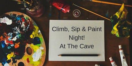 Climb, Sip & Paint Night! tickets