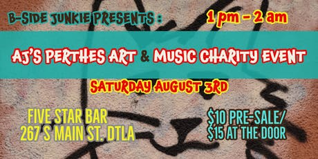 Aj's Perthes Disease Fundraiser -Live Music Art & More tickets