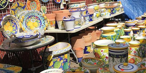 Italian Pottery Outlet Warehouse Sale!