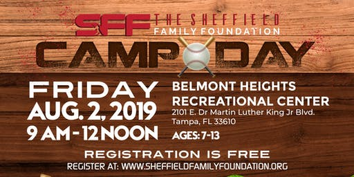 The Sheffield Family Foundation 2019 Summer Camp