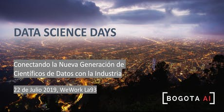Data Science Days - Bogotá entradas