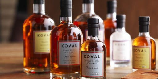 KOVAL Spirits Dinner at The Mad Priest