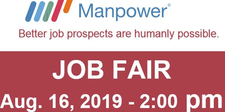 MANPOWER Job Fair tickets