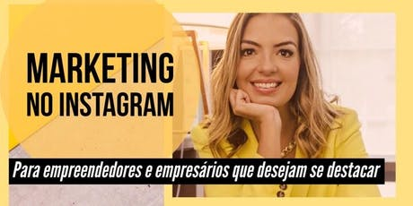 Curso Marketing no Instagram - Campinas ingressos
