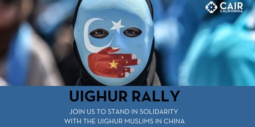 Rally for the Uighur Muslims