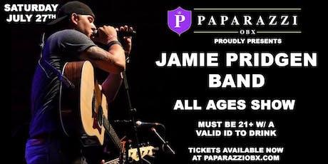 Jamie Pridgen Band! LIVE at Paparazzi OBX!! tickets
