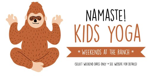 Kids Yoga 8/4/19