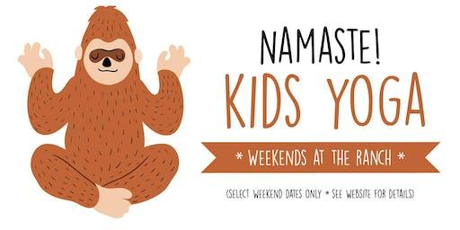Kids Yoga 8/10/19