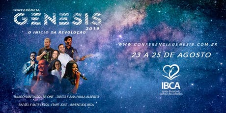 Conferência Genesis ingressos