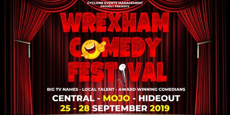 WREXHAM COMEDY FESTIVAL 2019 tickets