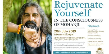 Rejuvenate Yourself in Mohanji's Consciousness tickets