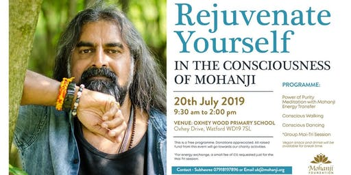 Rejuvenate Yourself in Mohanji's Consciousness