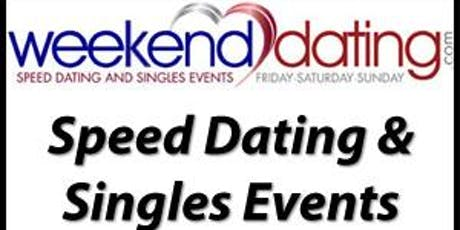 Speed Dating NYC: Weekenddating.com: Men ages 43-58, Women 40-53- MALE tickets tickets