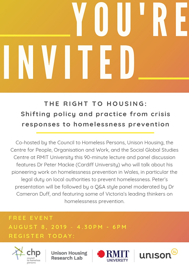 Shifting policy & practice from crisis responses to homelessness prevention image