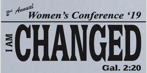Womens Conferance I AM CHANGED