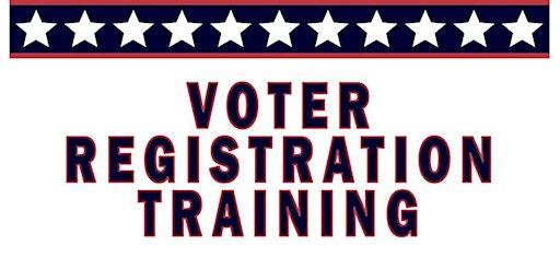 Voter Registration Training - 2nd Thursdays of the Month