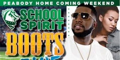 Peabody Homecoming Weekend School Spirit, Boots, & Blue Jeans