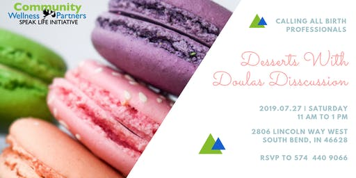 Dessert and Doula Discussion