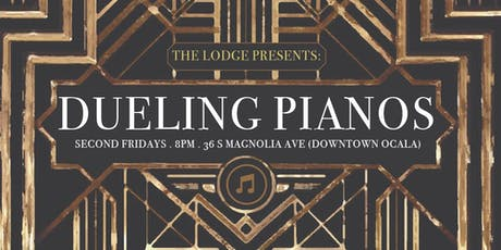 Dueling Pianos @ The Lodge Ocala - August 9th tickets