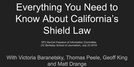 SPJ NorCal Shield Law workshop tickets