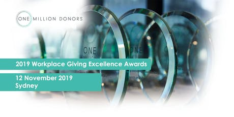2019 Workplace Giving Excellence Awards tickets
