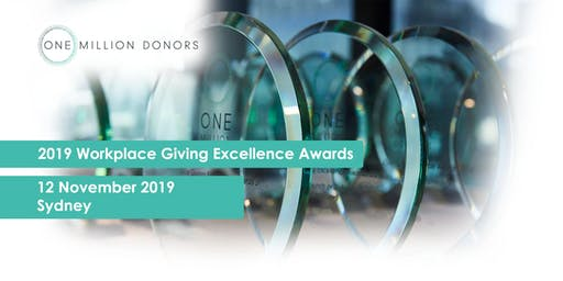 2019 Workplace Giving Excellence Awards