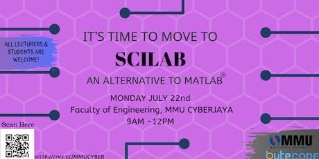 SCILAB Seminar The Game-Changers @ MMU CYBERJAYA tickets