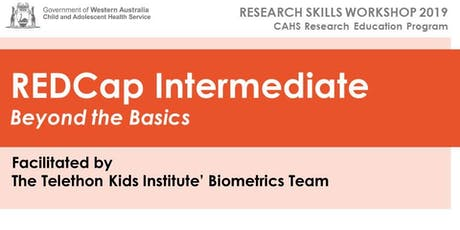 CAHS REDCap Intermediate Workshop - 11th September tickets