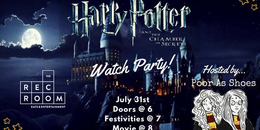 WATCH PARTY: Harry Potter and the Chamber of Secrets