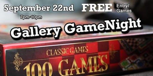 Gallery Game Night