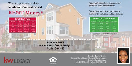 Homebuyer's Credit Analysis & Consult