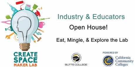 Butte College Create Space Maker Lab Open House & CTE Program Review tickets