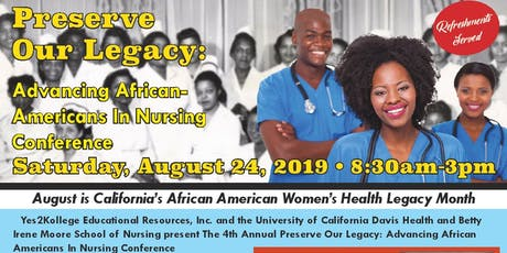 """Preserve Our Nursing Legacy 2019"" tickets"