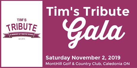Tim's Tribute Gala tickets