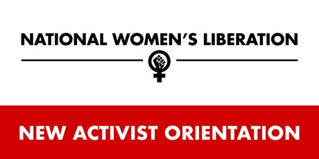 NWL New Activist Orientation tickets
