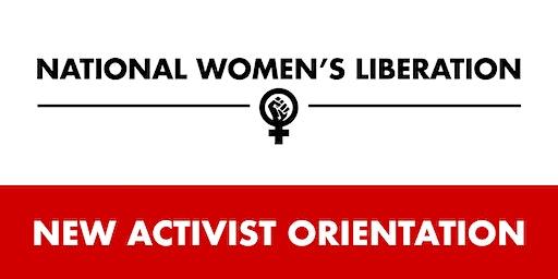 POSTPONED - NWL New Activist Orientation
