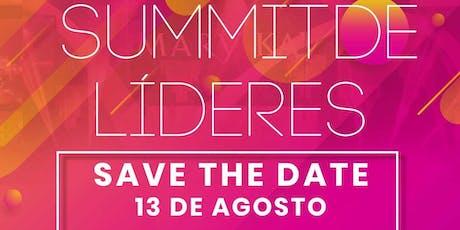 Summit de Líderes Agosto ingressos