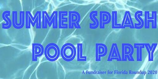FRU Summer Splash Pool Party